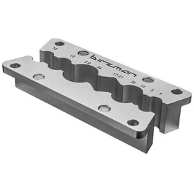 Birzman Vice Clamping Jaws for Pedal Axles, silver